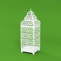 arabic lantern 3d obj