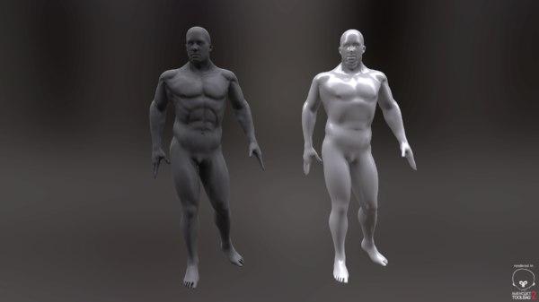 animation men 3d x