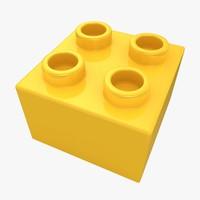 max realistic lego brick 2