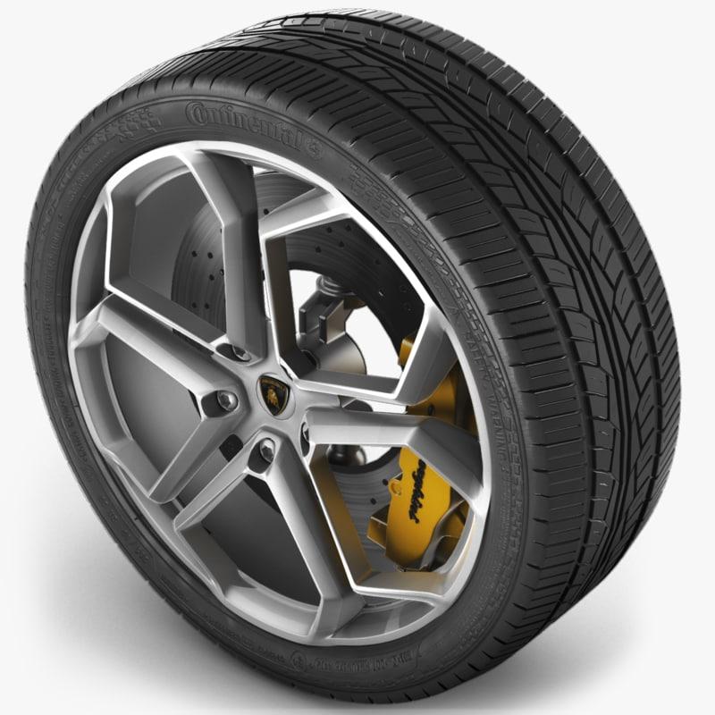 wheel avt 3d model