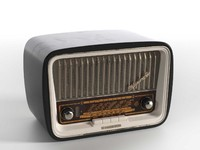 gavotte 1253 radio 3d model