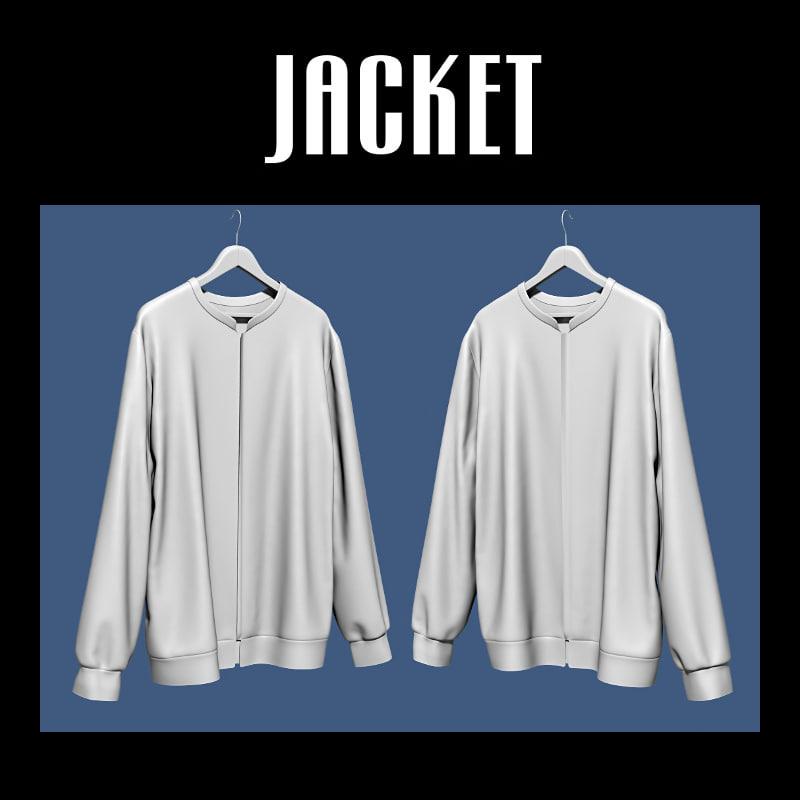 jacket hanger 3d obj