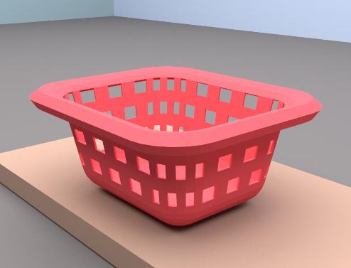 plastic basket sepet blend free