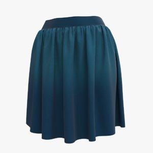 skirt blue max