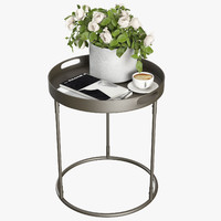 Pottery Barn Palmer Tray Table
