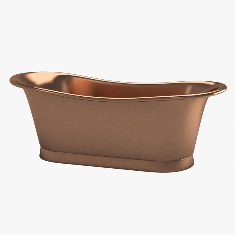 3d model of bathtube 03