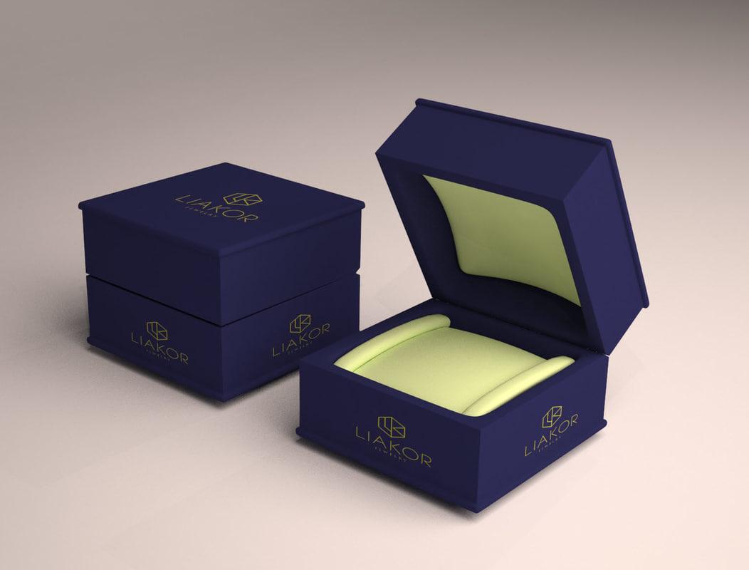 box jewelry 3d max