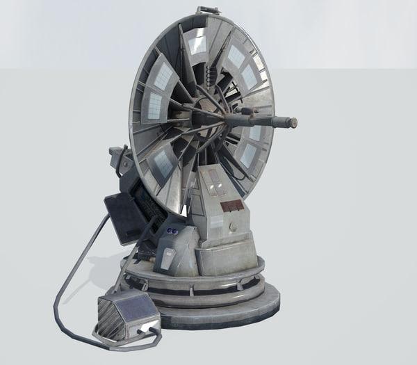 3d star wars 1 4 model