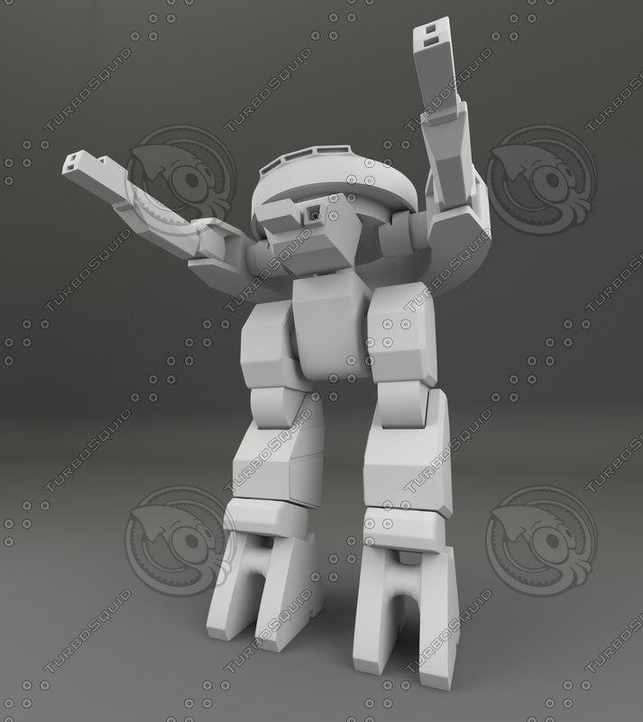 3d max robot