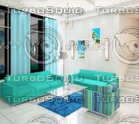 3d studio interior design
