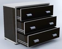3d drawers chest bolero