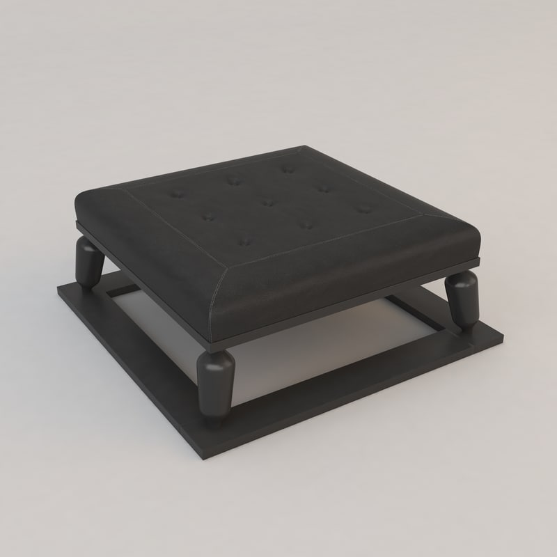 3d model galicia coffee table christian