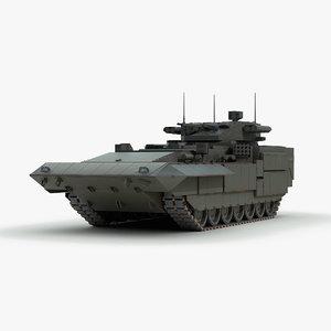 russian t15 armata 3d model