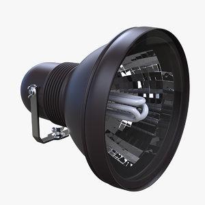 3d model spot light lamp