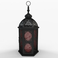 Moroccan Metal Lantern by Bungalow Rose