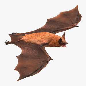 3ds bat realistic
