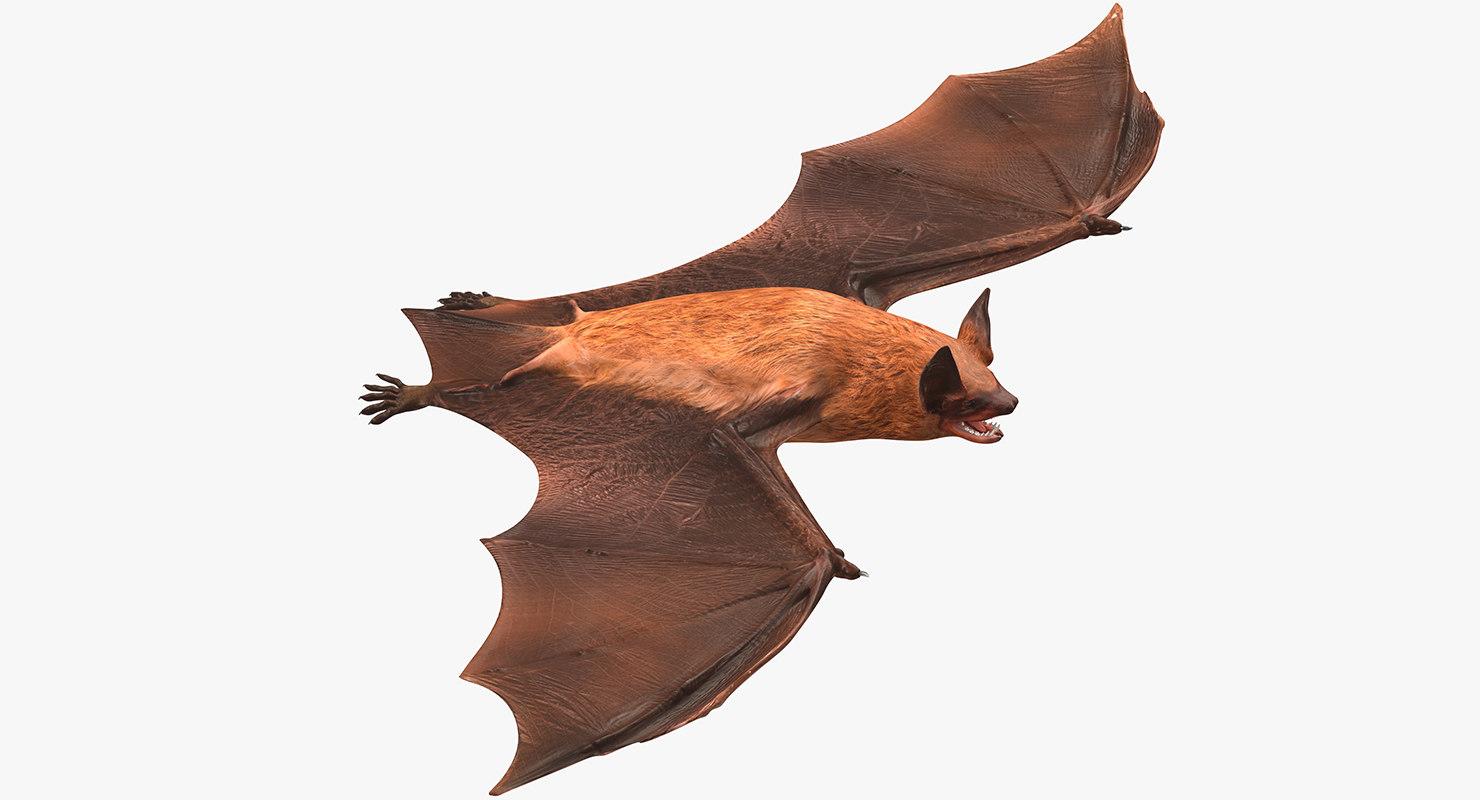 3ds bat realistic