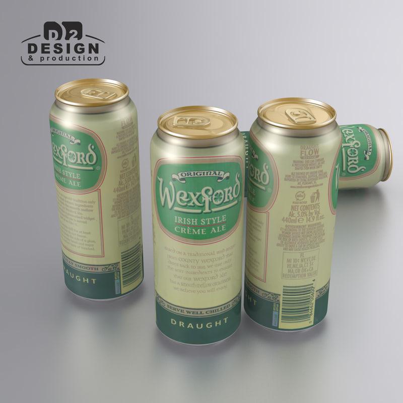beer wexford irish style 3d model
