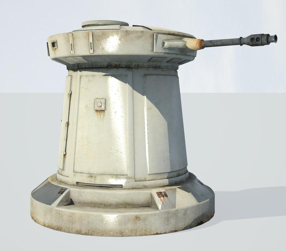 star wars laser cannon max