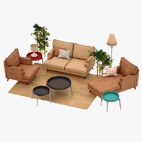 max living room set