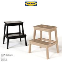 IKEA Bekvem Skammel