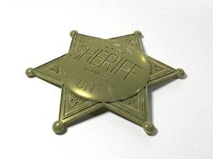 grand county sheriff badge fbx