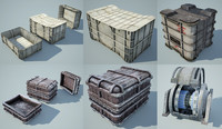 Game Ready Star Wars Crates