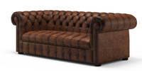 chester chesterfield sofa 3d model