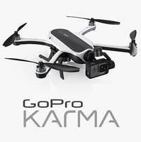 3d model gopro karma drone hero5