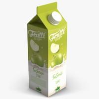 juice pack 3d model