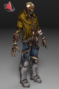 zombie 3d 3ds