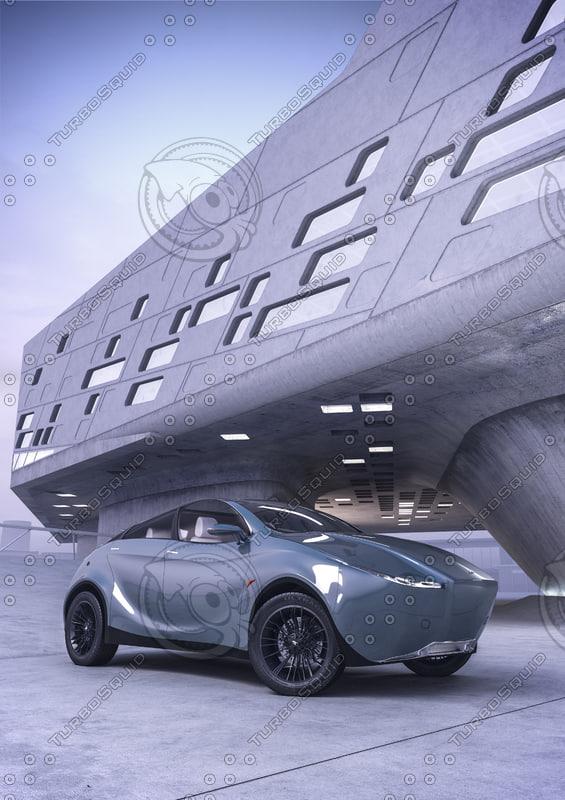 car suv 3d model