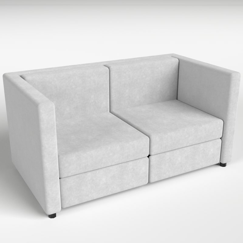 3d model couch sofa 2