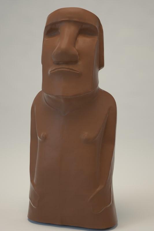 3d model of statue games