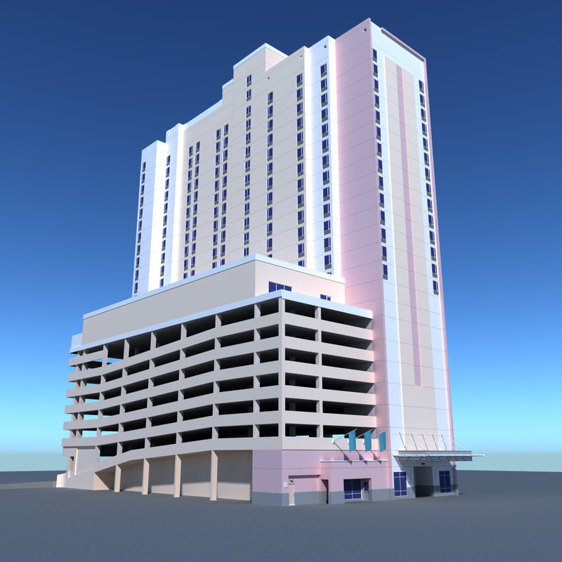 building rise 3d max