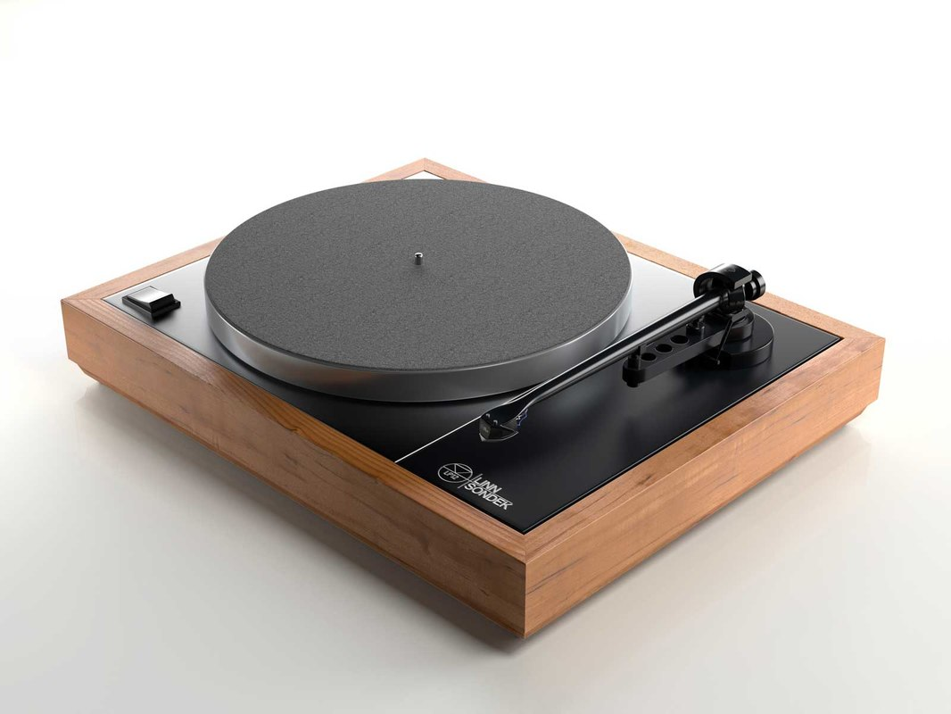 3d majik lp12 turntable model