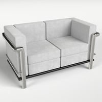 couch sofa 5 3d model