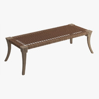 3d bench 04 model