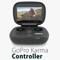 3d model gopro karma controller