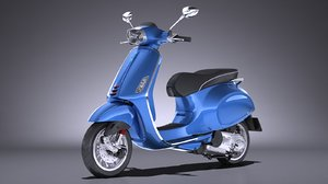 vespa sprint 125 3d 3ds