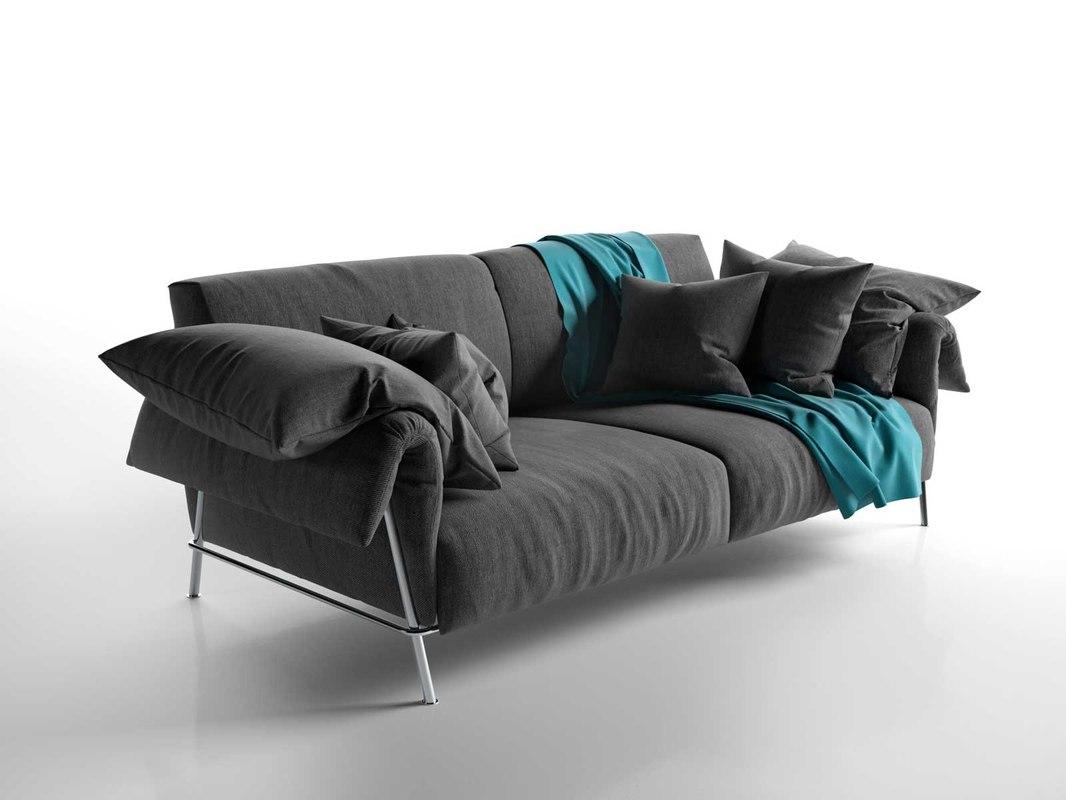 chat 12 sofa seat 3d model