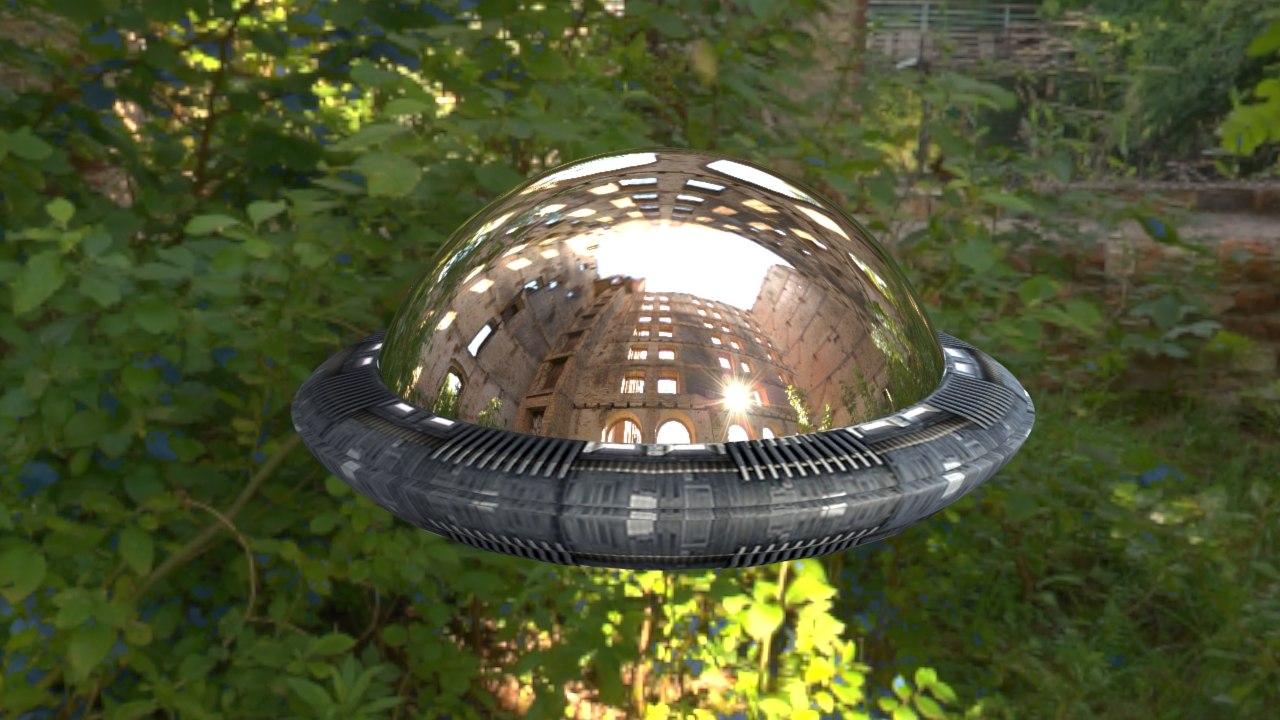 ufo metal 3d max