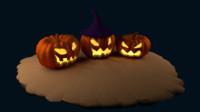 halloween pumpkins 3d 3ds