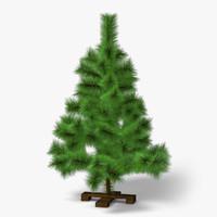 3d mini pine model