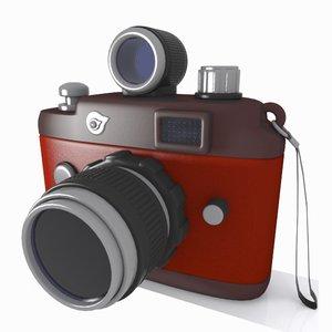 camera toon 3d max