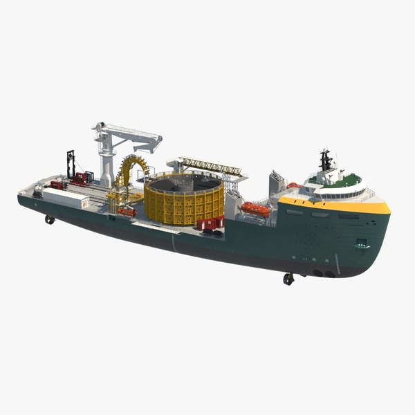 3d flexible cable laying vessel
