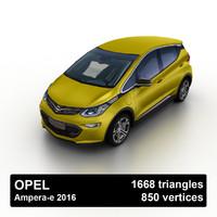 2016 opel ampera-e 3ds