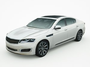 3d model generic sedan v12