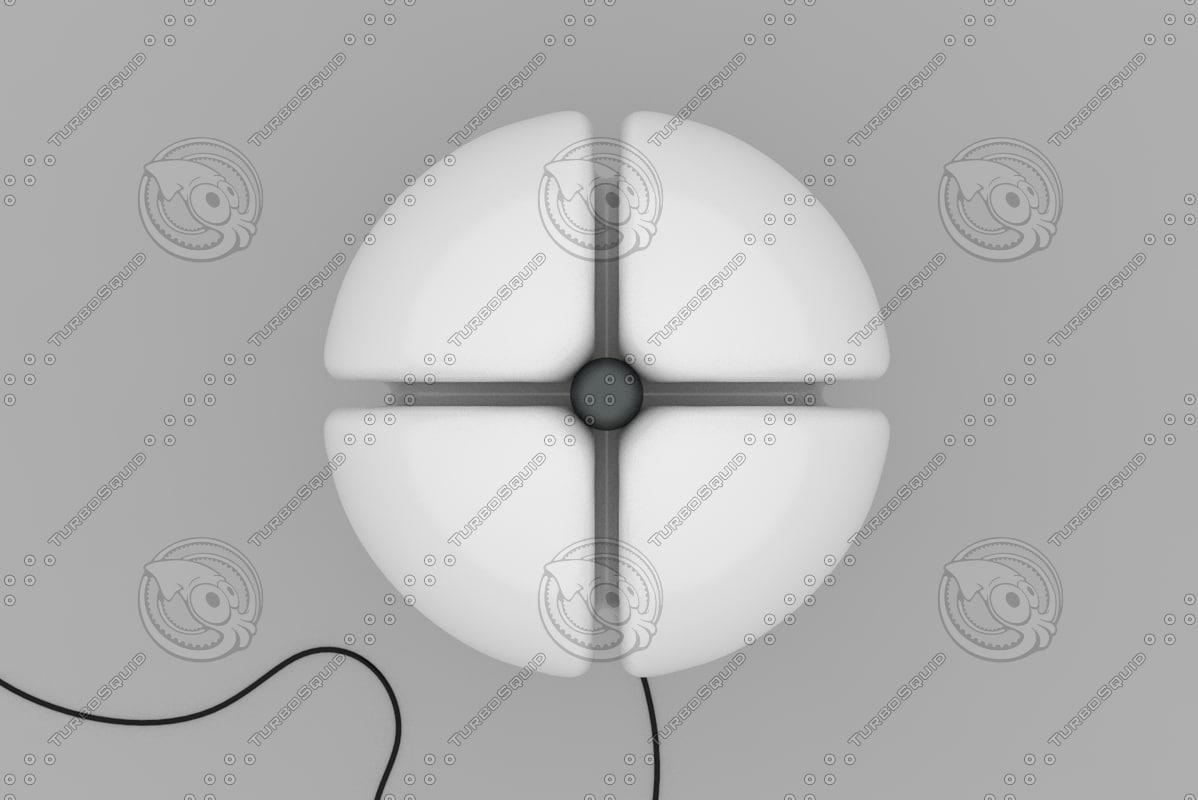 pipistrello lamp 3d model