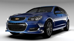 3d chevrolet ss 2017 tourer model